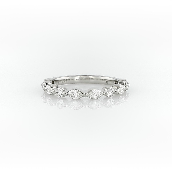 Monique Lhuillier Marquise Diamond Ring in Platinum (3/4 ct. tw.)