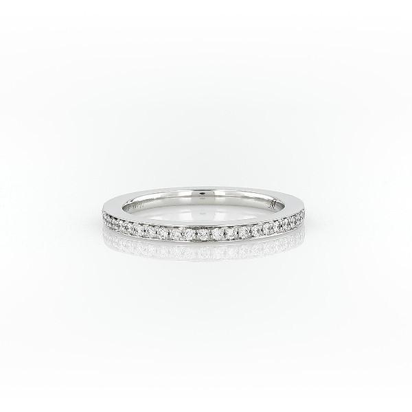Pavé Diamond Ring in Platinum (1/8 ct. tw.)