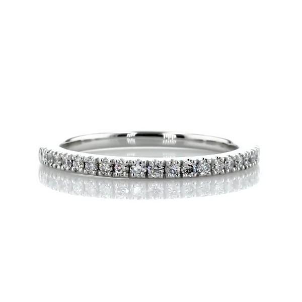 Pavé Diamond Wedding Ring in Platinum (1/5 ct. tw.)