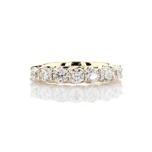 Tessere Seven Stone Diamond Wedding Ring in 14k Yellow Gold - I/SI2 (1 ct. tw.)