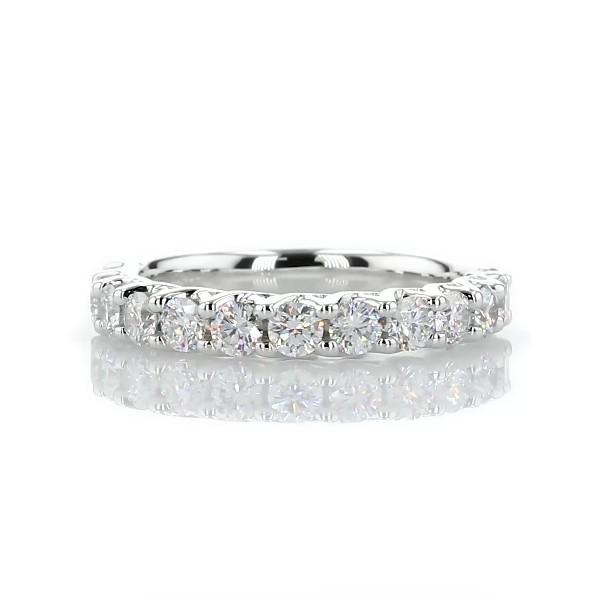 Tessere Weave Diamond Wedding Ring in Platinum (3/4 ct. tw.)