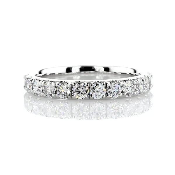 Riviera Pavé Diamond Ring in Platinum (1 ct. tw.)