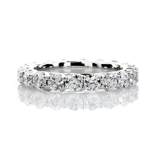 Tessere Weave Diamond Eternity Ring in Platinum (2 ct. tw.)
