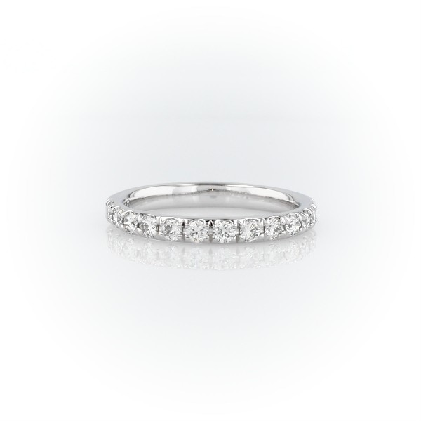 Riviera Pavé Diamond Ring in Platinum (0.50 ct. tw.)