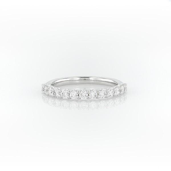 鉑金生命鑽石結婚戒指(1/2 克拉總重量)