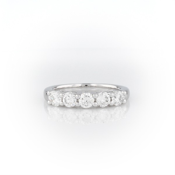Eternal Five Stone Diamond Ring in Platinum