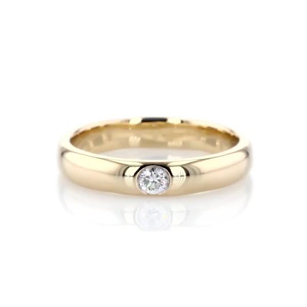 ZAC Zac Posen Single Round Diamond Band in 14k Yellow Gold (3.5mm)