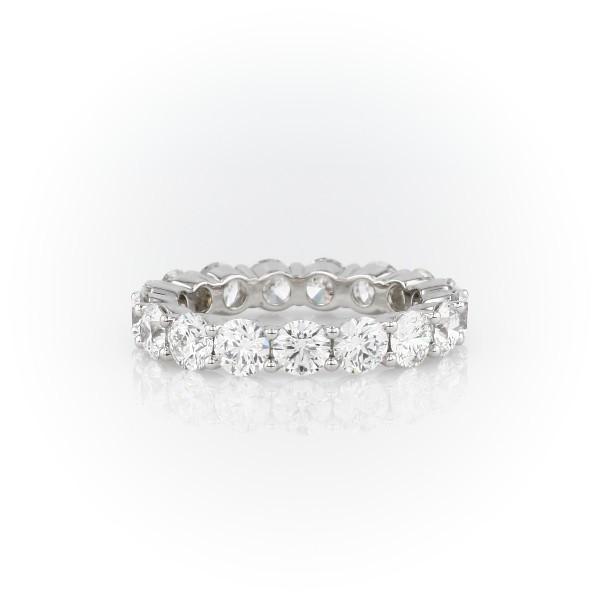 Classic Diamond Eternity Ring in Platinum (4 ct. tw.)