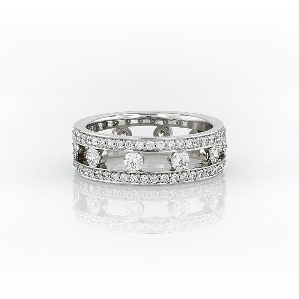 Gala Diamond Eternity Ring in Platinum (1.5 ct. tw.)