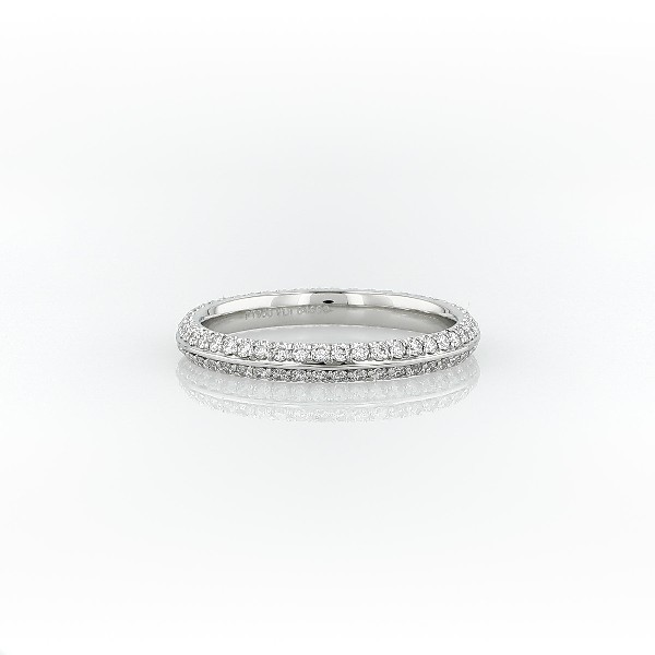 Blue Nile Studio Knife-Edge Diamond Eternity Ring in Platinum (1/2 ct. tw.)