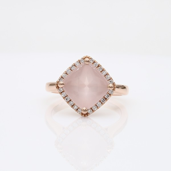 rose wedding diamond engagement prasiolite amethyst rings cut halo pear ring green gold band quartz