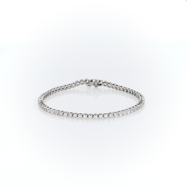 Diamond Tennis Bracelet in 14k White Gold (1.95 ct. tw.)