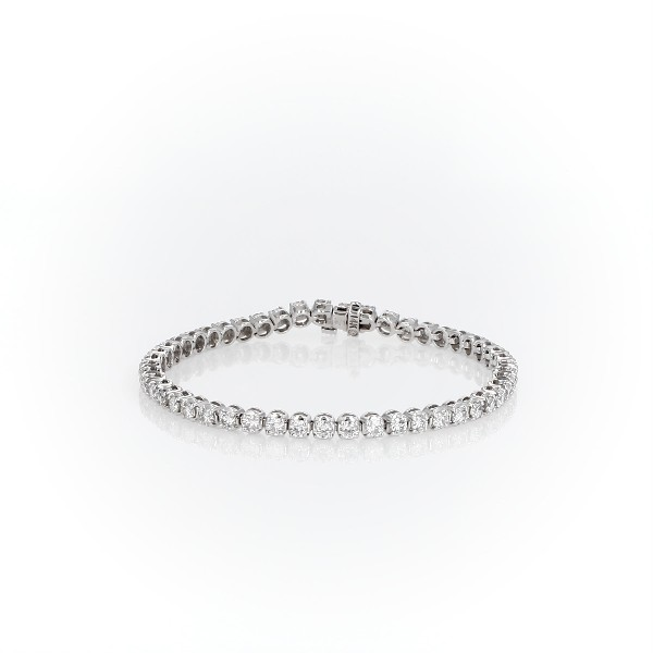 Diamond Tennis Bracelet in 14k White Gold (4.95 ct. tw.)