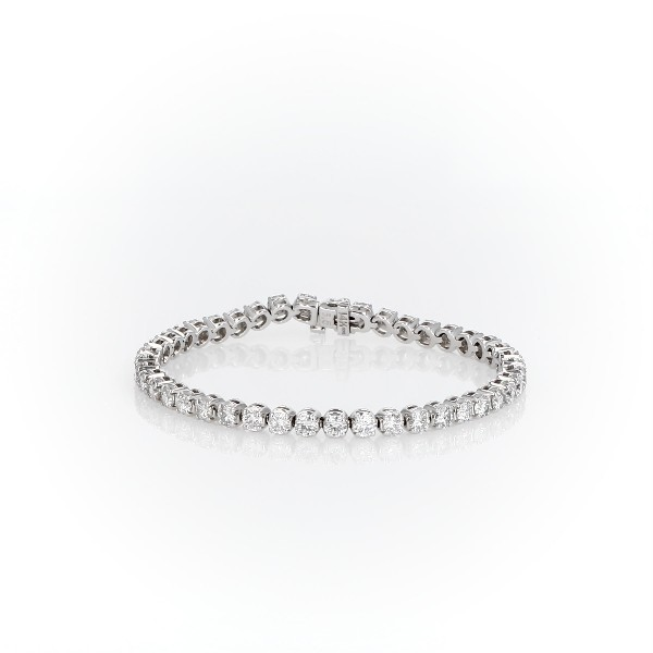 Diamond Tennis Bracelet in 14k White Gold (6.9 ct. tw.)