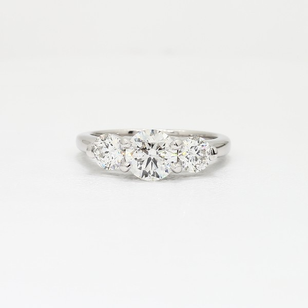 ring three trellis rings g carat engagement gold total sq classic radiant diamond stone pid princess style with white