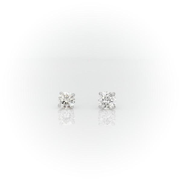 Diamond Stud Earrings in 14k White Gold (1/2 ct. tw.)- I/I2