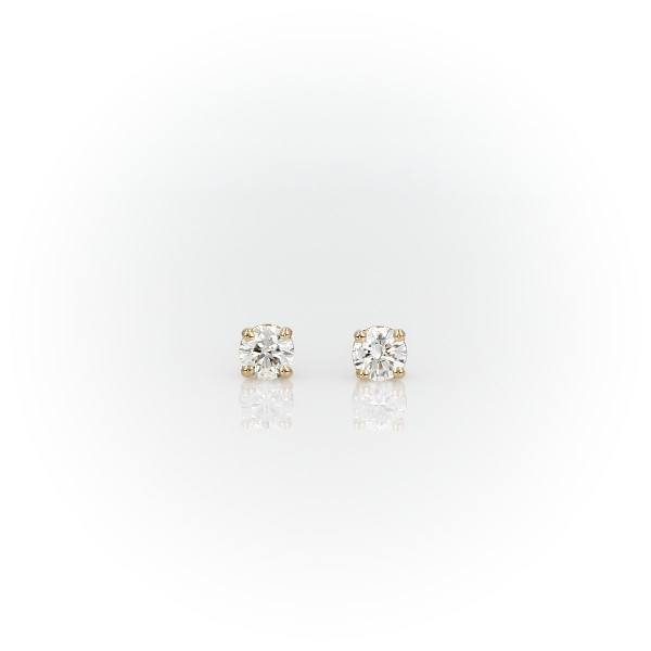 Diamond Stud Earrings in 14k Yellow Gold (1/3 ct. tw.)