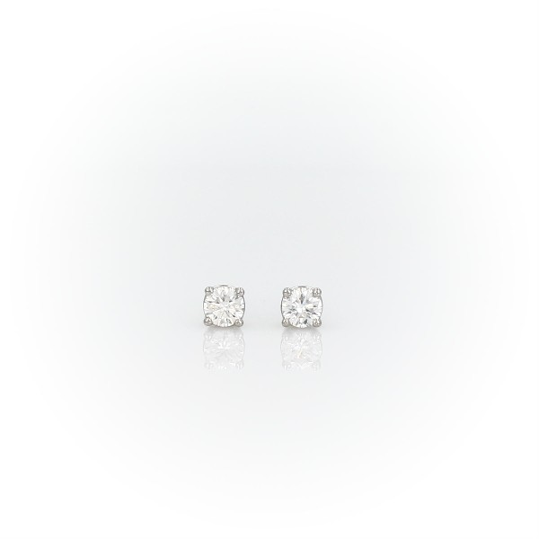 Premier Platinum Four-Claw Diamond Stud Earrings (0.23 ct. tw.)