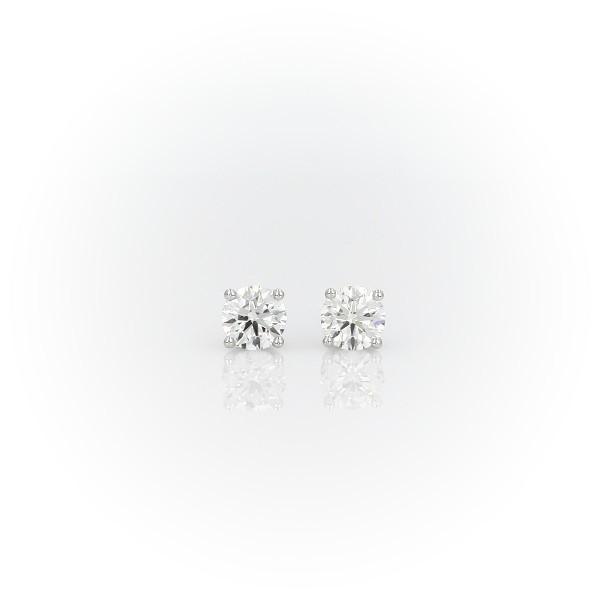 Platinum Four-Claw Diamond Stud Earrings (0.70 ct. tw.)