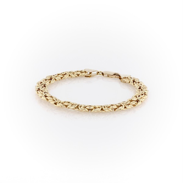 Byzantine Bracelet in 18k Italian Yellow Gold