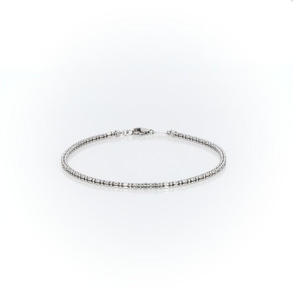 鉑金珠鏈環手鍊