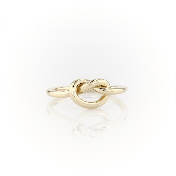 Love Knot Fashion Ring in 14k Yellow Gold