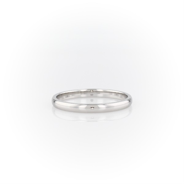 Classic Wedding Band in Platinum (2mm)
