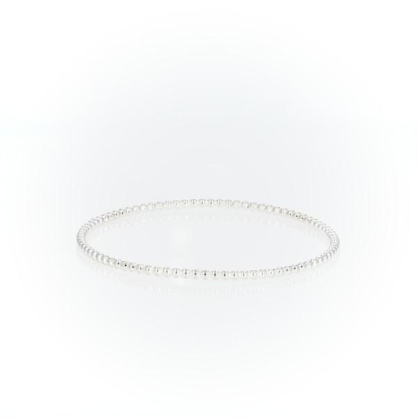 Beaded Bracelet in Sterling Silver