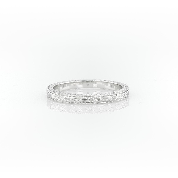 engraved engagement etched in wedding hand ca blue ring platinum nile own setmain rings build your solitaire