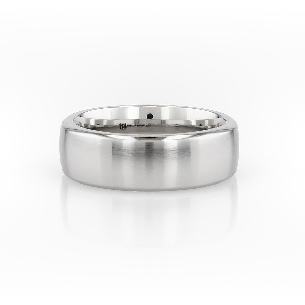 Modern Comfort Fit Wedding Ring in Cobalt (7.5 mm)