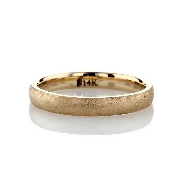 14k 黃金佛羅倫斯結婚戒指(3毫米)