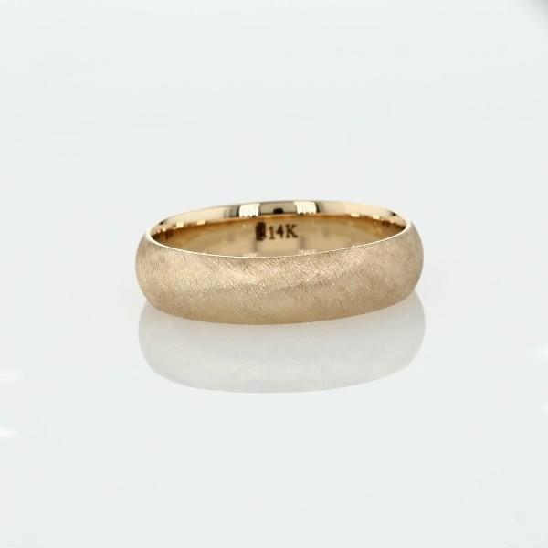 Florentine Wedding Band in 14k Yellow Gold (5mm)