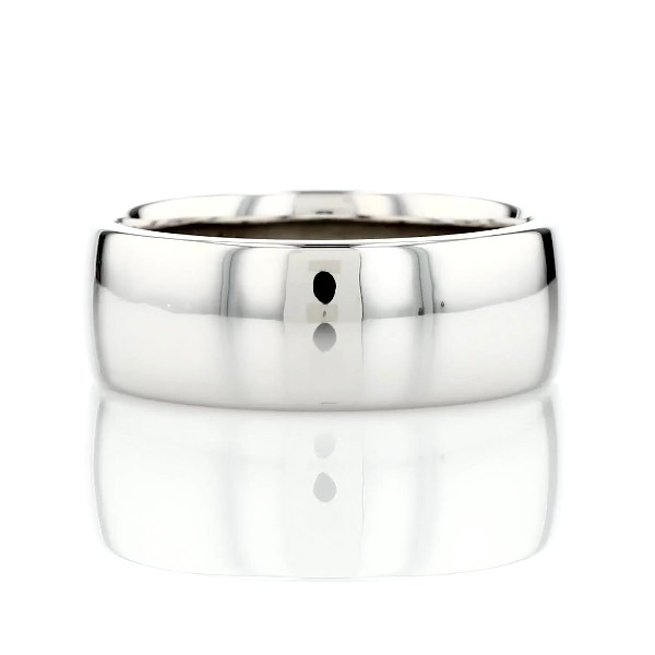 Skyline Comfort Fit Wedding Ring in Platinum (8mm)